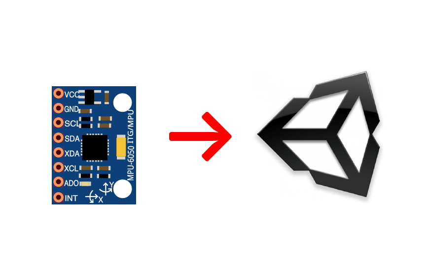 En arduino unity mpu using gyroscope to